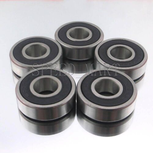 5PCS 6001-2RS 6001RS Deep Groove Rubber Shielded Ball Bearing 12mm*28mm*8mm