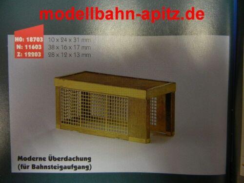HEICO Modèle art.187 03 moderne équipée pour quai lever laiton piste h0
