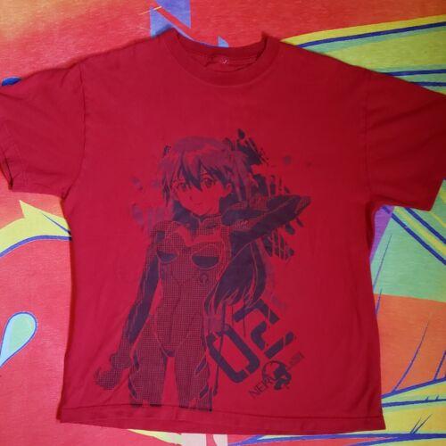 Vintage Neon Genesis Evangelion Anime shirt Offici