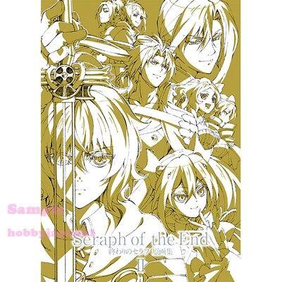 Used Seraph of the End Owari no Seraph Illustration Art Book 3 set EMS F//S Japan