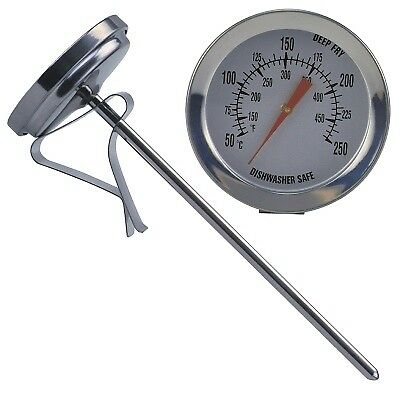 Other Baking Accessories Kitchen, Dining & Bar Painstaking Fett-thermometer Fetthermometer 50 Bis 250 Grad Neu