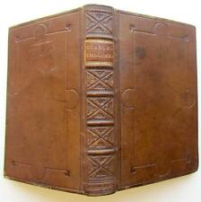 EMBLEMES Francis Quarles 1709 Fine Binding Grotesque Illustrations