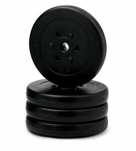 Hantelscheibenset-40-kg-4-x-10-kg-Gewichte-Krafttraining-Hantel-NEU