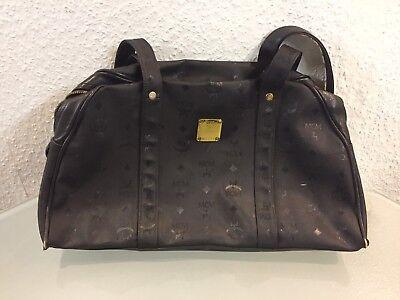 MCM München Mo 771 Handtasche Schwarz | eBay
