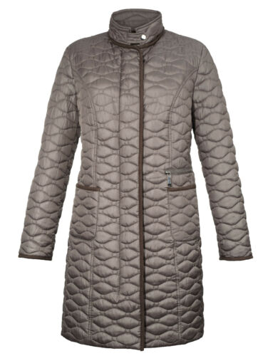 Coat Short 52 Gr Brands Taupe 1117528560 Quilted qfpECSax6w