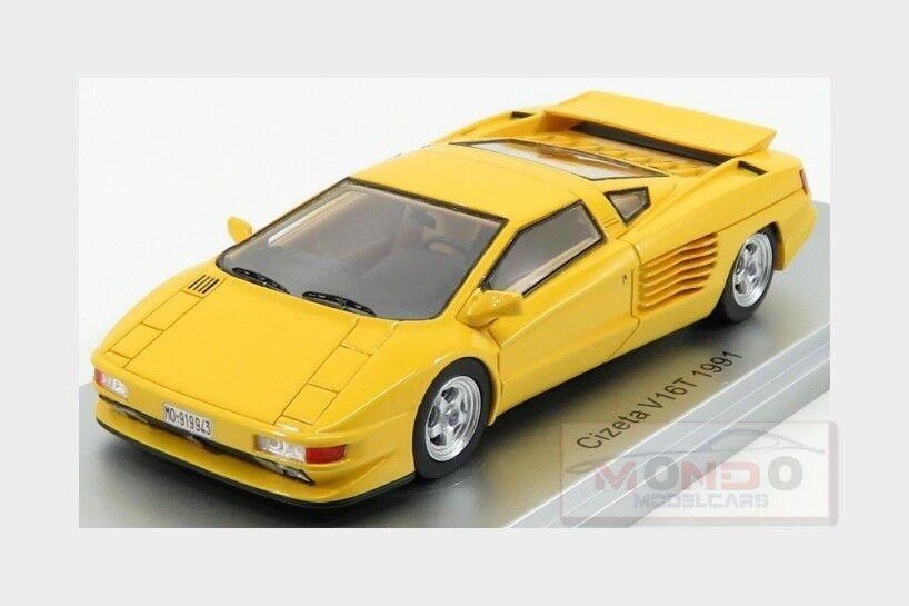 Cizeta V16T 6,4 16Cil 64V 1991 1991 1991 Yellow KESS MODEL 1 43 KE43048002 Model 505387