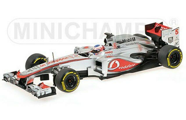 MINICHAMPS 530 121873 131875 McLAREN F1 model SHOW CARS J Button 2012   13 1 18