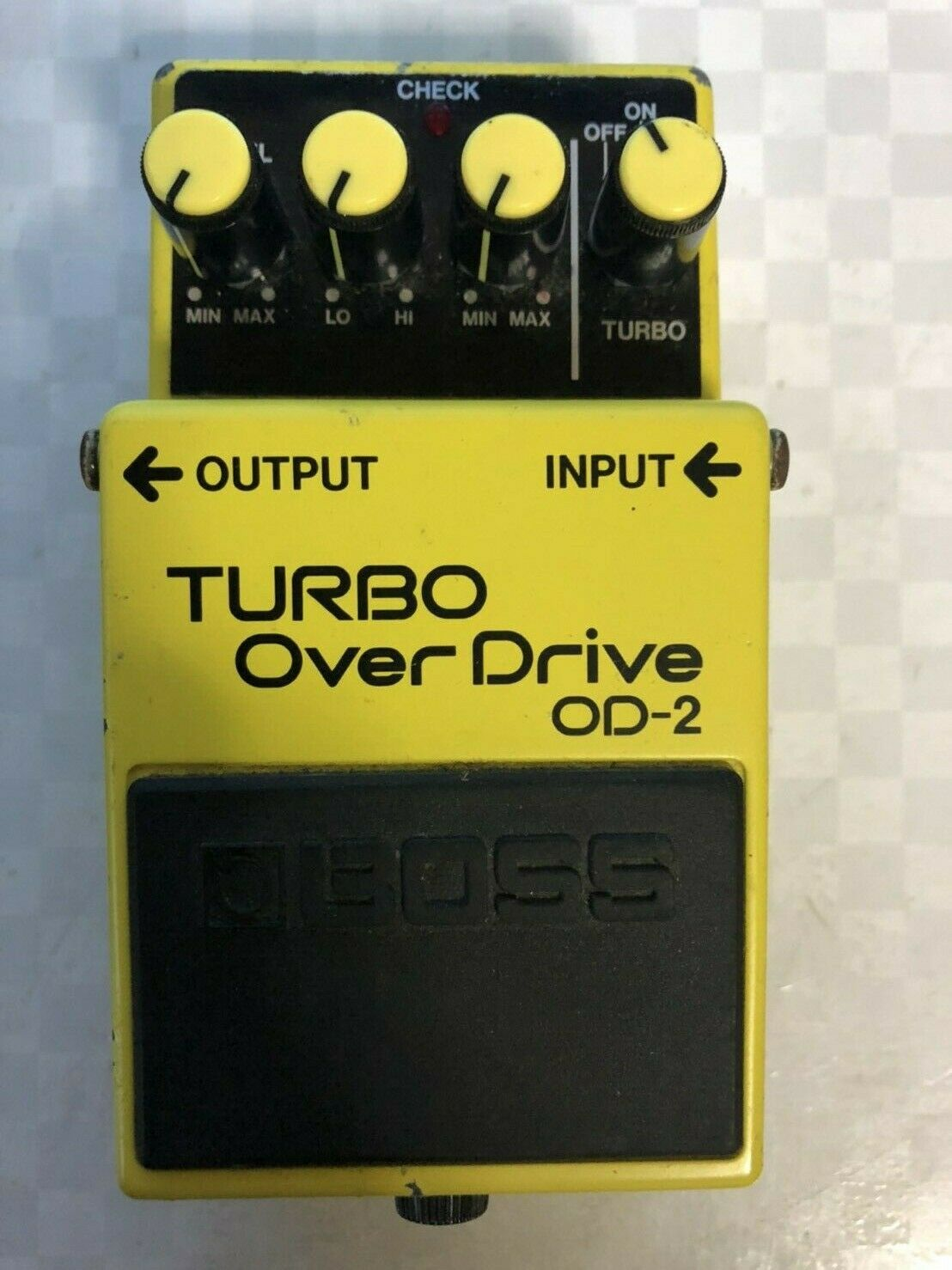 BOAAS OD-2 Overdrive Guitar Effect Pedal MIJ  FREE SHIPPING