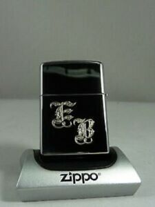 3654-Zippo-Feuerzeug-mit-Wunschgravur-Initialen-Chrome-poliert