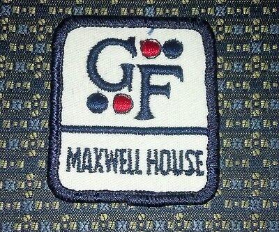 VINTAGE UNIFORM GF MAXWELL HOUSE Sew-On Patch