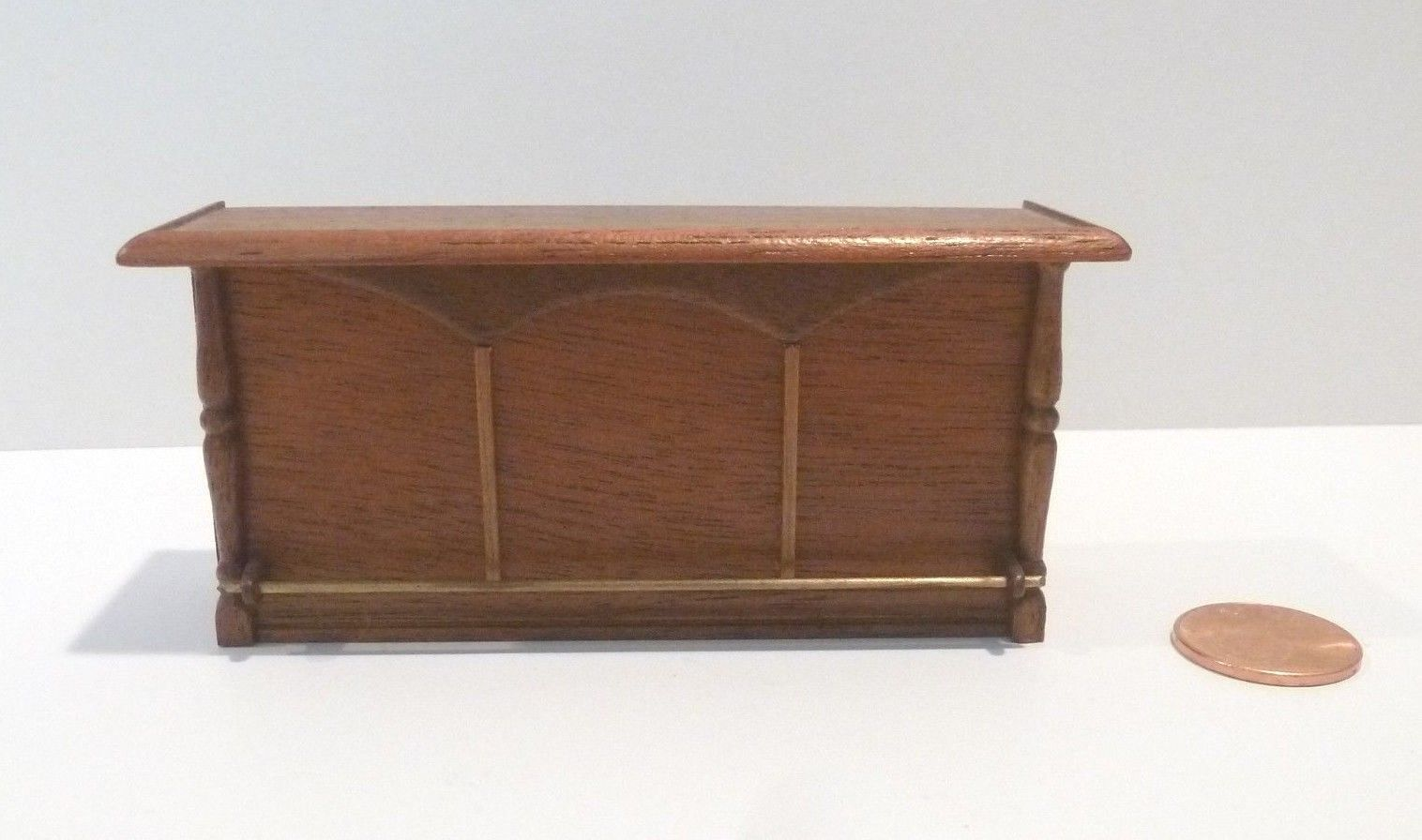 RAE MINIATURE 1 2  SCALE BAR  SIGNED   DATED 1985