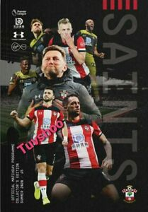 Southampton-v-Sheffield-United-LIMITED-Bumper-Programme-26-7-2020-PRE-ORDER