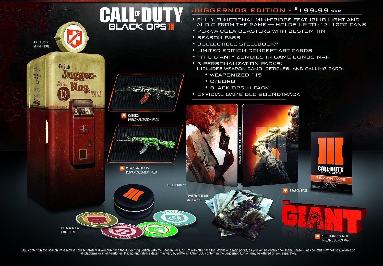 Call Of Duty Black Ops 3 Iii Juggernog Edition Playstation 4