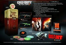 Call Of Duty: Black Ops 3 III - Juggernog Edition [PlayStation 4 PS4, Collector]