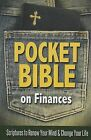 Pocket Bible on Finances: Scriptures to Renew Your Mind and Change Your Life by Harrison House (Paperback / softback, 2013)