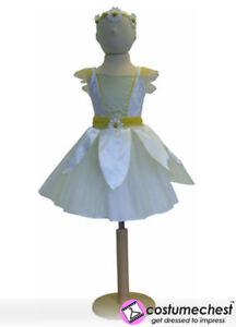 6-8-years-Daisy-Fairy-Girls-Dress-Party-Bridesmaid-Headband-Costume-by-Travis