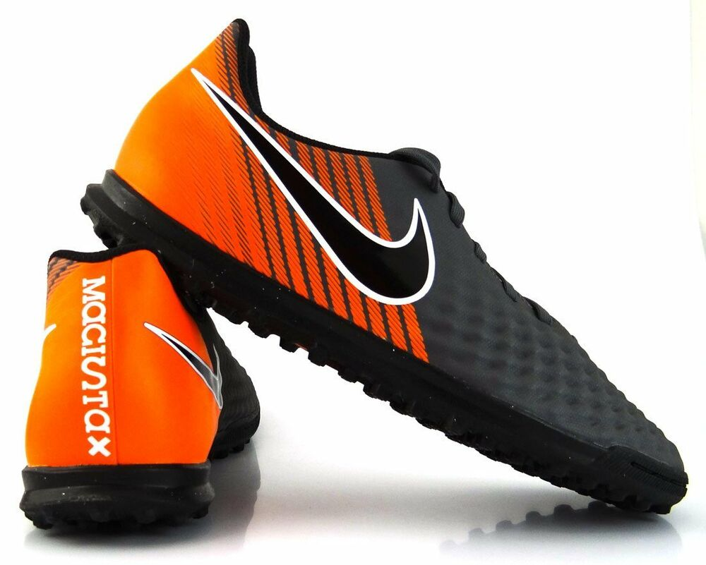 Chaussures Nike Magista Obra 2 Club Tf Ah7312 080 Baby-foot Adulte Gris Orange