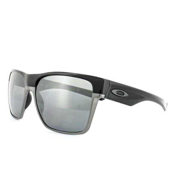 330c34b861 Oakley Sunglasses TwoFace XL OO9350-01 Polished Black Black Iridium  Polarized