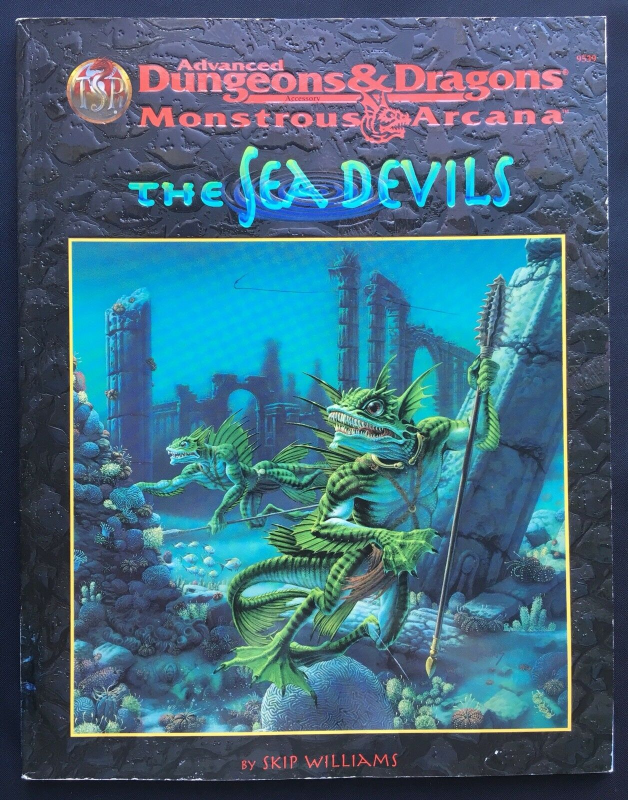 The Sea Devils - Advanced Dungeons & Dragons Monstrous Arcana -  AD&D 9539