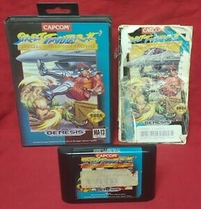 Street-Fighter-II-Special-Champion-Edition-Sega-Genesis-Rare-Game-Authentic