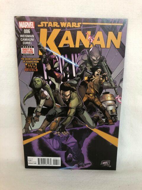 Marvel Kanan The Last Padawan #6-(W) Greg Weisman (A) Jacopo Camagni 1st Sabine