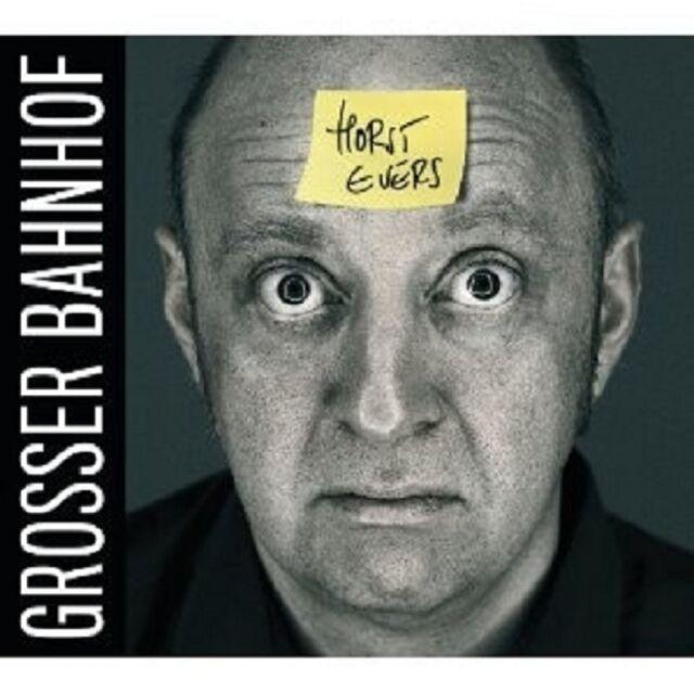 """HORST EVERS """"GROSSER BAHNHOF"""" CD NEU"""