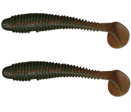 Gummifische Kaito 7-12 cm  2 Stück Jigköpfe Jigs im Shop