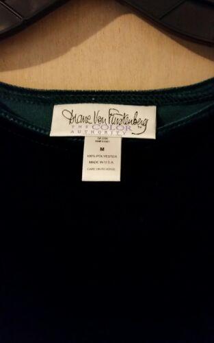 Dvf verde Pant Furstenberg sciarpa Von color set da Diane e oro donna wqpROxCWE