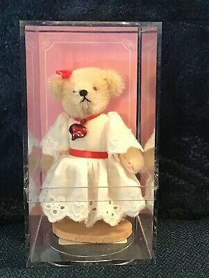 New .. Muffy Vanderbear Mohair Miniature Valentine 1 by North American Bear Co