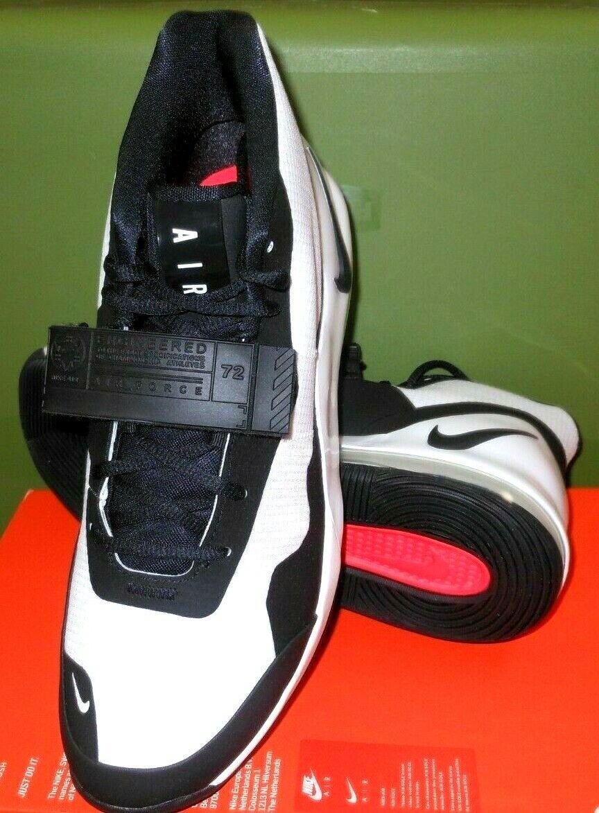zapatos Max Force hombre 11 SZ Nike de Air blancoo negro