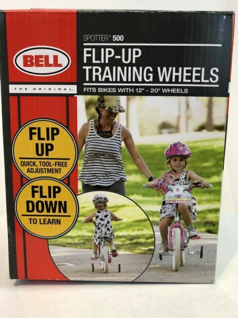 Bell Spotter 500 Flip Up Training Wheels Bikes With 12 20 Wheel For Sale Online Ebay