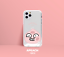 miniature 12 - Official KAKAO Friends BBOBBO Clear Jelly Phone Case +Free Tracking
