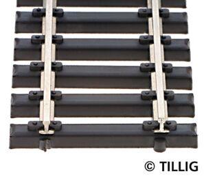 HS-Tillig-83136-Flexgleis-Stahlschwelle-520-mm-10-er-Pack-Spur-TT