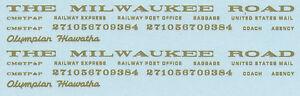Milwaukee-Road-Hiawatha-Custom-Decal-Set-Gold