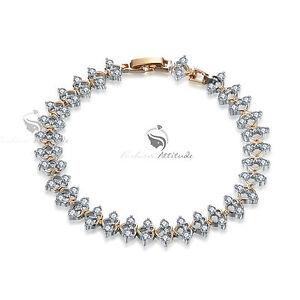18k-white-yellow-gold-chain-gf-made-with-swarovski-crystal-bracelet-sparkling