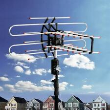 J-Pole Mast J-Mount Remote 360°150 Miles HDTV Outdoor HD TV 36dB Rotor Antenna