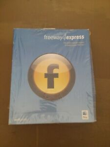 SOFTPRESS FREEWAY 4 EXPRESS MAC THE EASIEST WAY FOR ANYONE TO BUILD A GREAT WEB