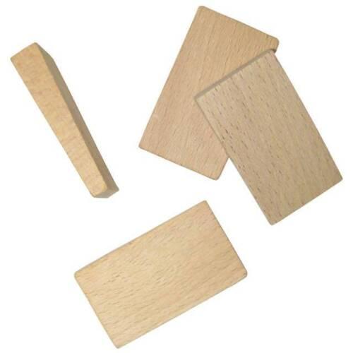 3 verschiedene Größen Connex Montage-Keile 50 Stück aus Holz