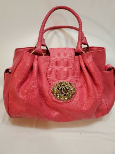 Original By SHARIF 1827 Dusty Rose Leather Bag