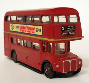 EFE-1-76-Scale-RM2103-Code3-London-Routemaster-60-Years-1993-Diecast-Model-Bus