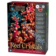 aquarium systems reef crystals instant fish sea salt 25kg tub