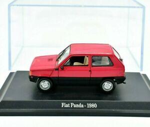 Modellauto-Auto-Fiat-Panda-modelle-1-43-diecast-automodell-NOREV-Neu-Selten