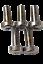 HARLEY-CHROME-Front-Brake-Rotor-Mounting-Bolts-5-16-18-x-5-8-XL-FLST-FX-FLHT-CVO thumbnail 2