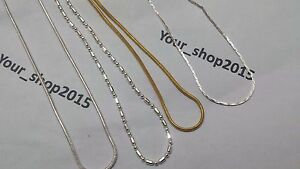 Sterling Silver 16inch 2mm Metallic Rubber Cord Necklace 16 Inches