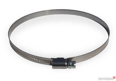 Duct Jubilee Clip Clamp 5 Inches Flexible Ducting Hose Pipe Ventilation