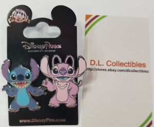 Disney-Lilo-and-Stitch-2-pin-set-Stitch-and-Angel-Pin