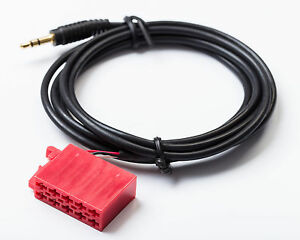 Kompatibel-mit-Blaupunkt-10-Pol-3-5-mm-Klinke-Aux-Adapter-Kabel-Stecker-MP3
