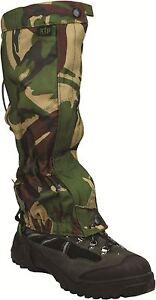 H Gaiter Military Bushcraft Camping Nuevo wTPR6x