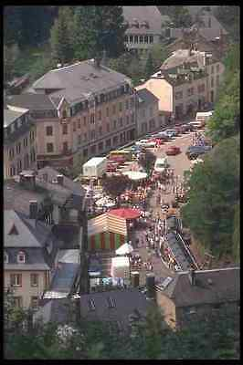 Art 369041 View Of The Market Place Clervaux A4 Photo Print