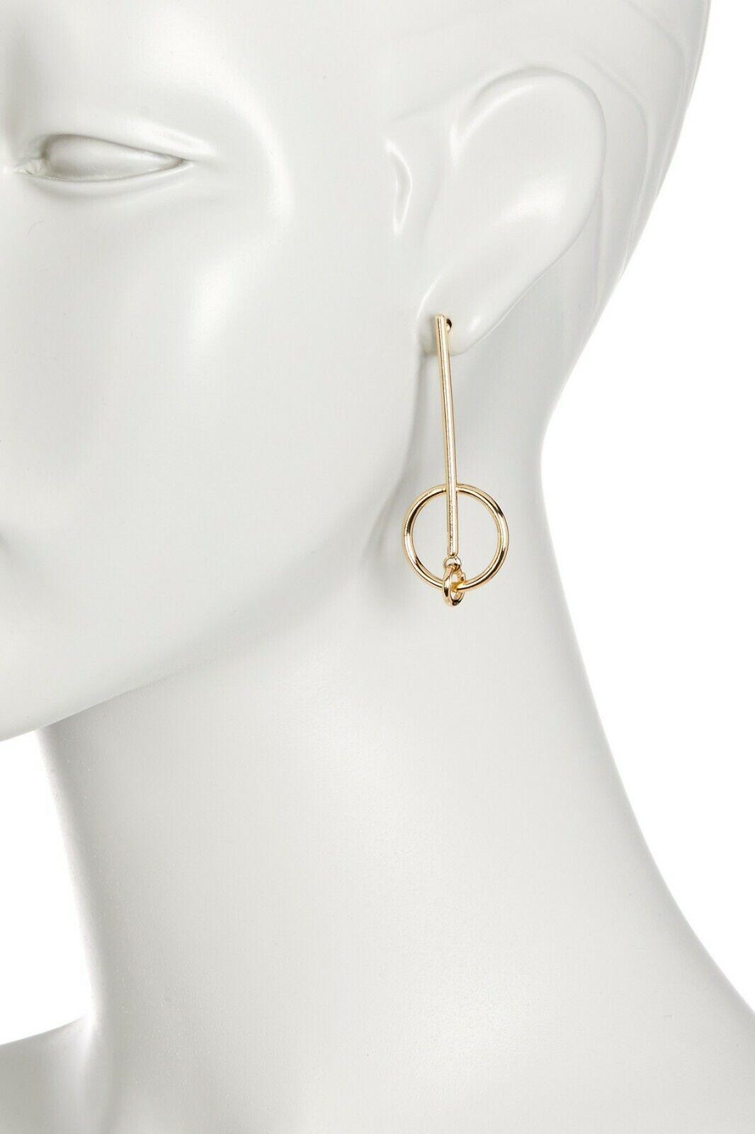009a9058db8d2 Nordstrom Rack 14th & Union Women's Double Hoop Earrings Gold